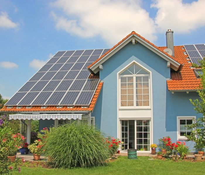 home with solar energy from solar companies in Tampa
